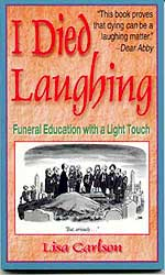 I Died Laughing Book cover